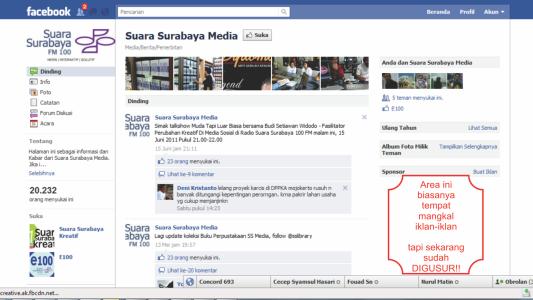Facebook Tanpa Iklan